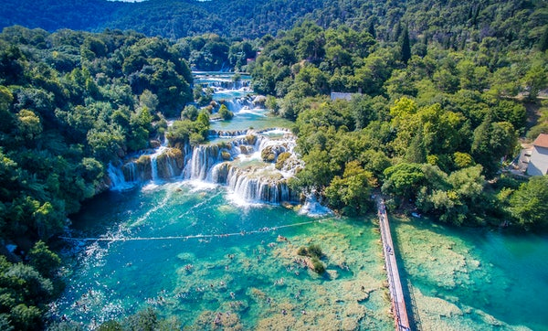The Most Extraordinary Drone Photos Of Krka National Park On The Internet