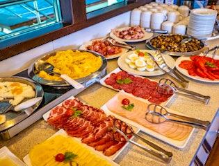 Daily Buffet Breakfast on a Sail Croatia Cruise