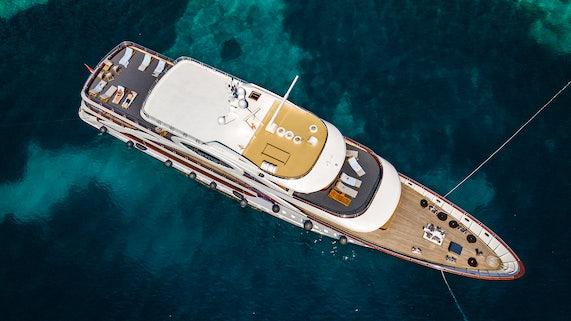 MS Olimp deck space