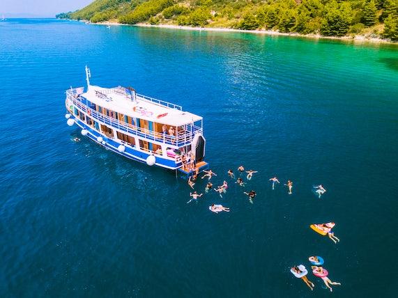 Swimming in Croatia