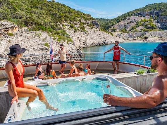 Relaxing on an Explorer Cruise