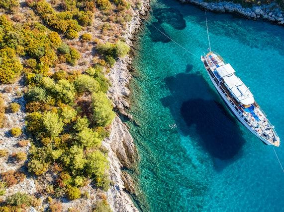 Beautiful swim spot in Croatia
