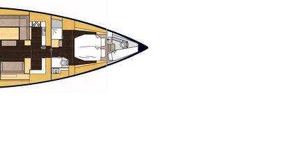 Bavaria Cruiser 57 plan view