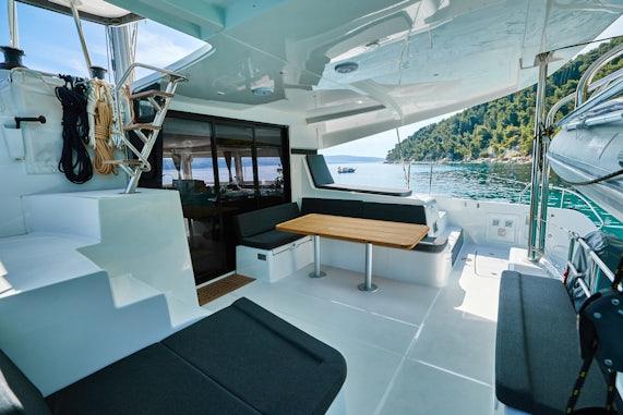 Catamaran Charter Layout