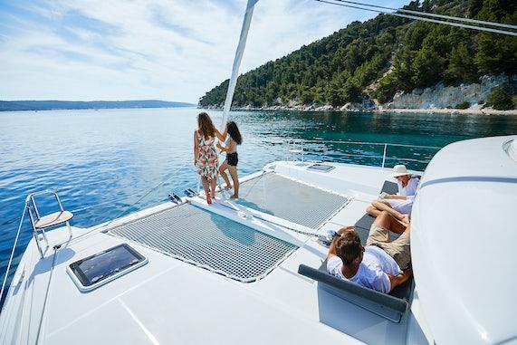 Catamaran Charter Space Onboard