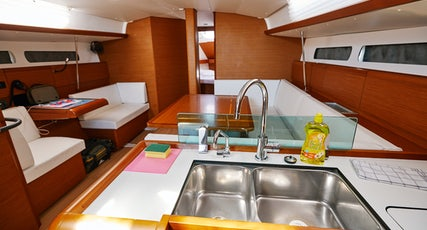 Sun Odyssey 449 kitchen view
