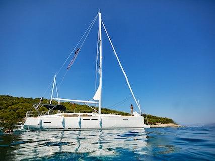 Incognito swim spot in the Adriatic sea