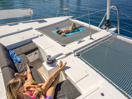 Family time on a Private Yacht Tour