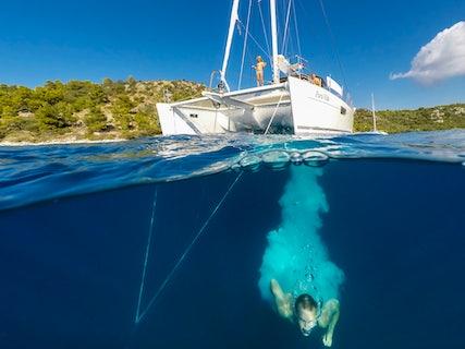Enjoying the Private Yacht Tour lifestyle