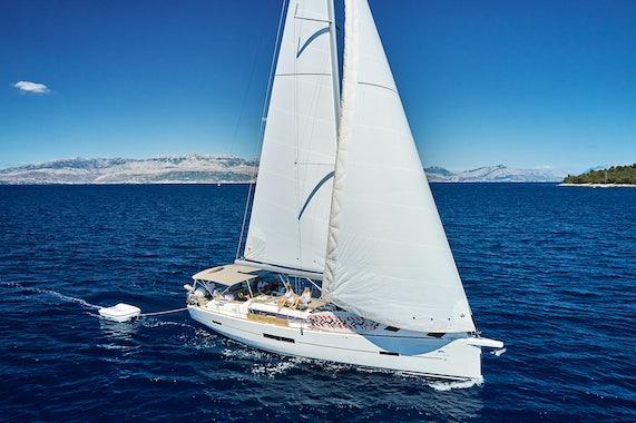 Sailboat Charter Layout
