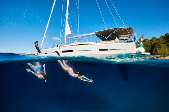 Sailboat Charter Setting Sail