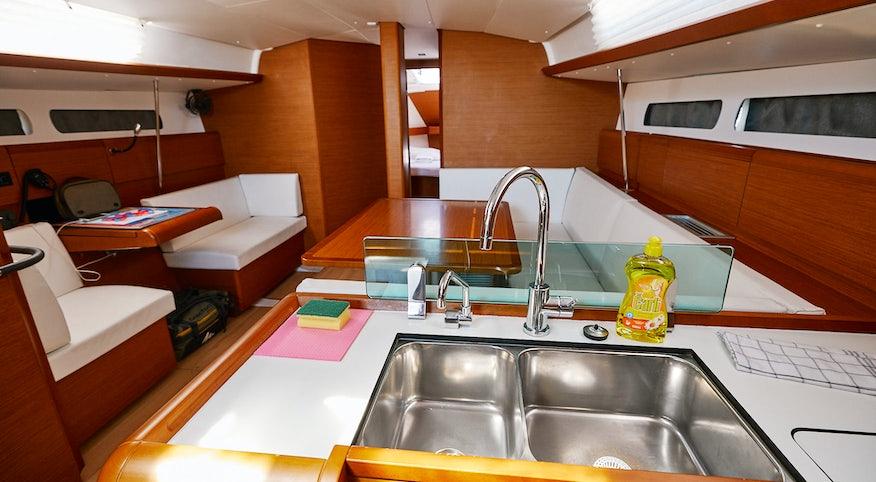 Premier Yacht Interior